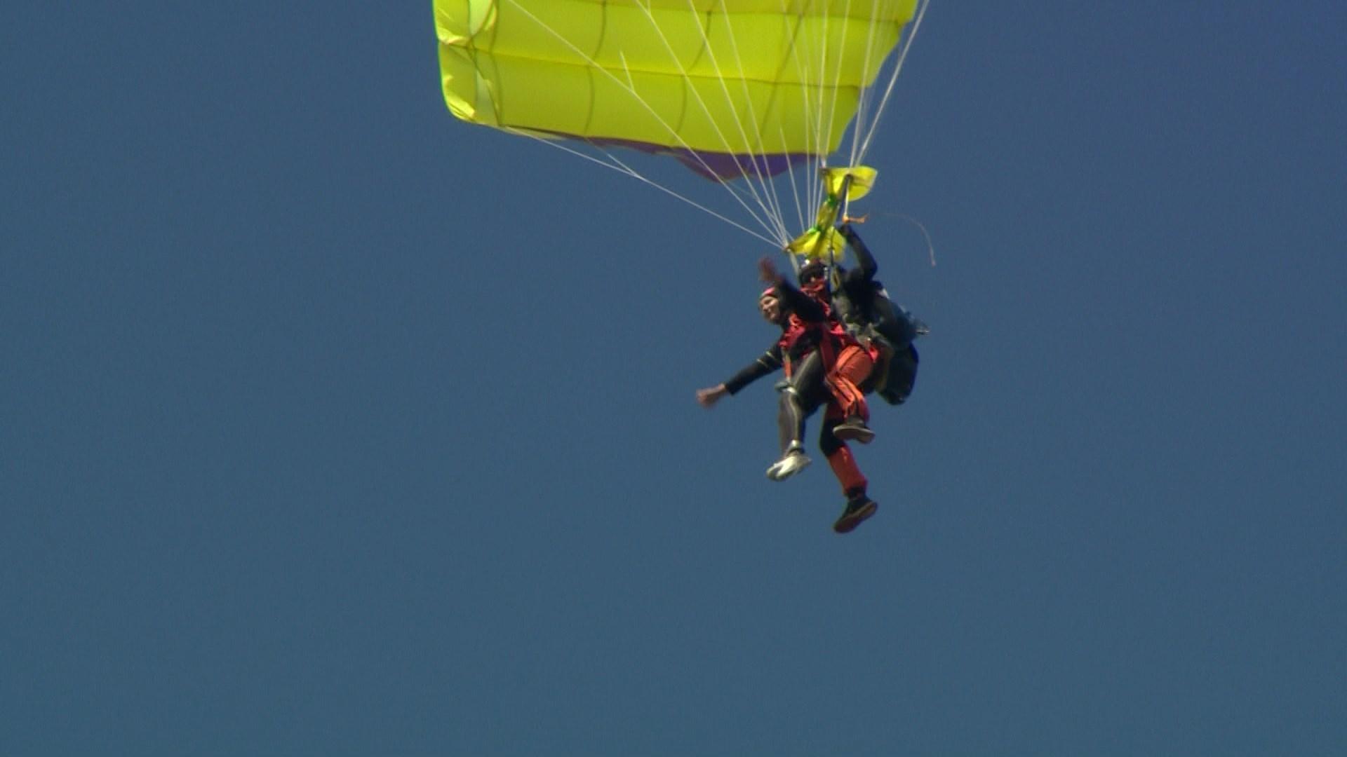 парашютисты в воздухе картинки сахаров очень хорошо