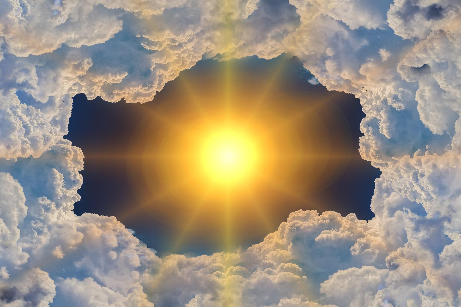 Свет и тепло картинка
