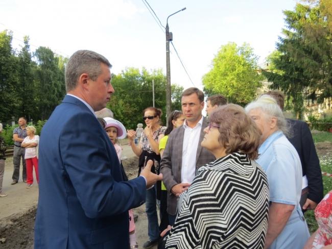 Image for Благоустройство сквера и озера проверили в Автозаводском районе