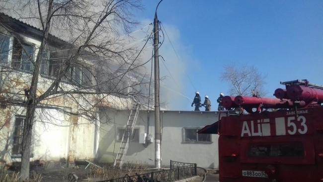 Image for Опубликованы фото и видео пожара на Заволжском моторном заводе