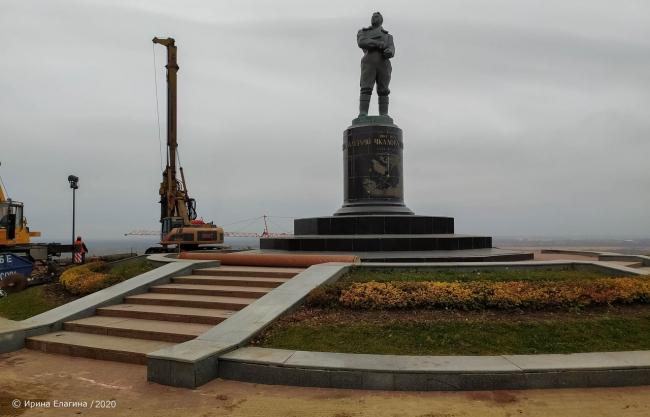 Image for Появились фото реконструкции Чкаловской лестницы в Нижнем Новгороде