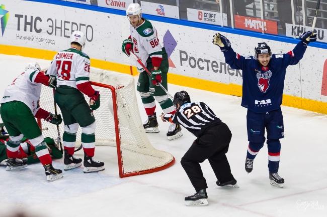 Хоккейный клуб «Торпедо» в Нижнем Новгороде упустил победу над «Ак Барсом» из Казани