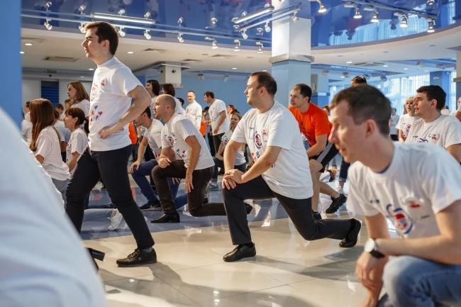 Image for Горьковский автозавод присоединился к массовой зарядке в рамках форума «Россия – спортивная держава»