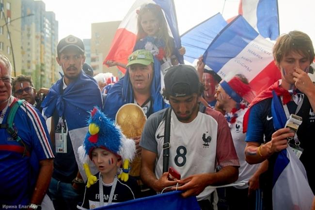 Image for Французские болельщики прошли маршем в Нижнем Новгороде: фоторепортаж