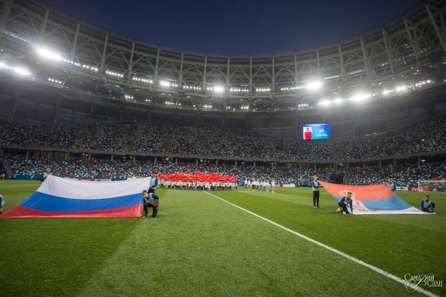 Image for Матч в Нижнем стал рекордным по посещаемости для российской молодёжной сборной
