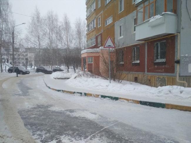 Image for Снег на ул.Богдановича убрали после вмешательства мэра Нижнего Новгорода
