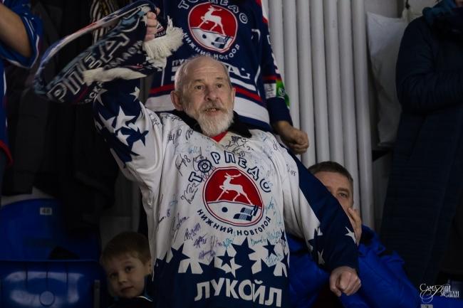 """Image for Хоккеисты """"Торпедо"""" одержали победу на домашнем матче с """"Динамо"""""""