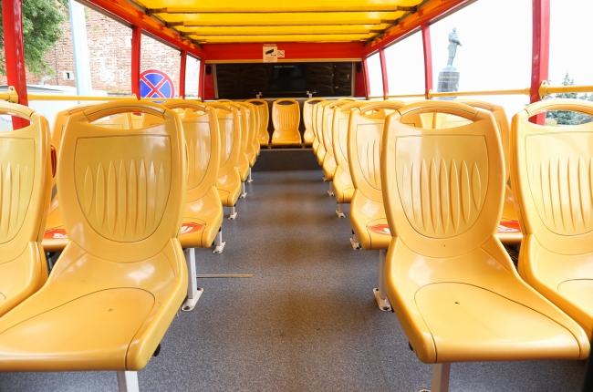 Image for Двухэтажные автобусы курсируют по Нижнему Новгороду
