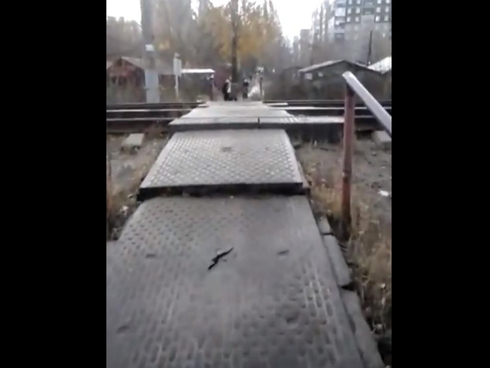 Image for Неудовлетворительное состояние пешеходного перехода в Сормовском районе