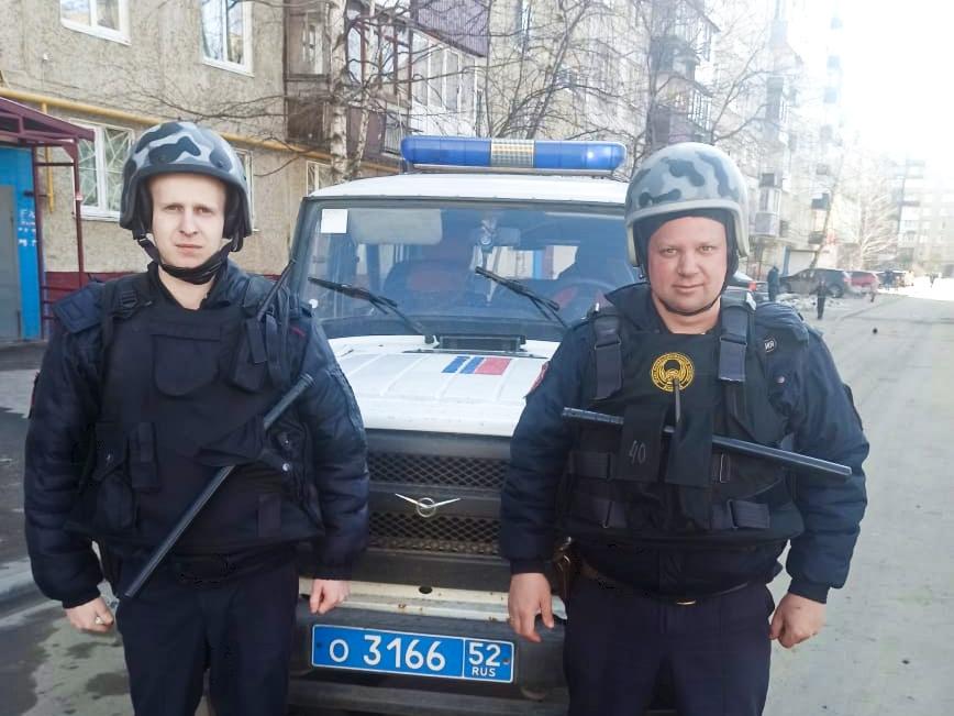 Image for Нижегородские росгвардейцы смогли ликвидировать пожар на Автозаводе