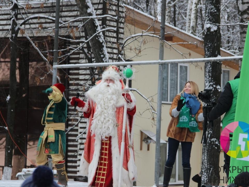 Всероссийский Дед Мороз поздравил нижегородцев с Новым годом