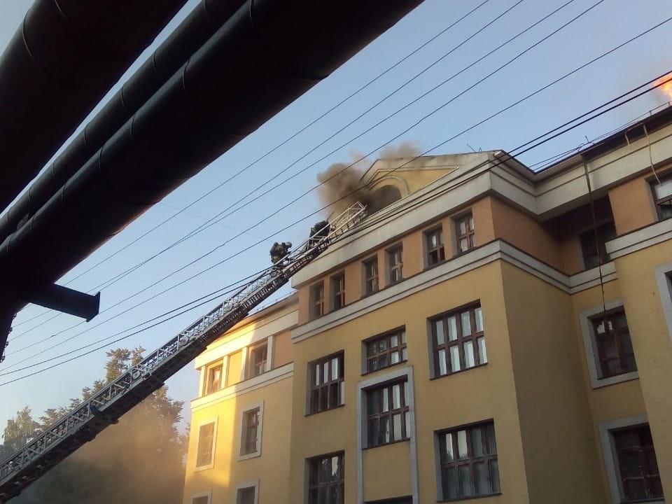 Image for Число пострадавших при пожаре в ПИМУ возросло до 9 человек