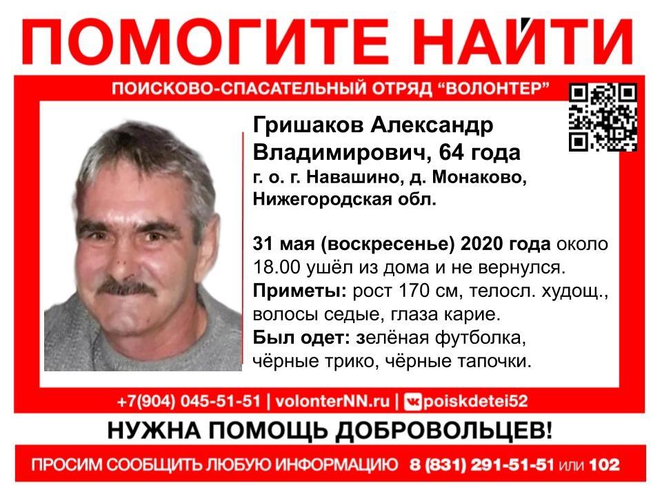 Image for В Нижегородской области третий день ищут пропавшего 64-летнего мужчину