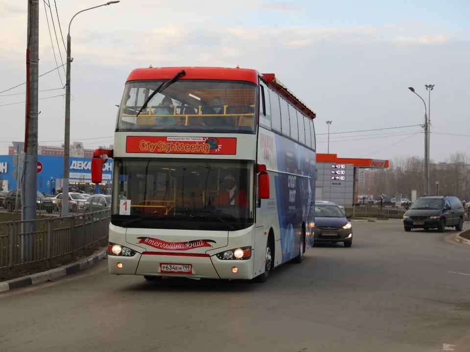 Image for Двухэтажный автобус в Нижнем Новгороде перевез более 3 тысяч человек