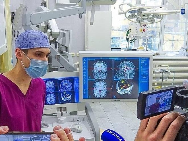 Image for Нижегородские врачи провели уникальную операцию на головном мозге