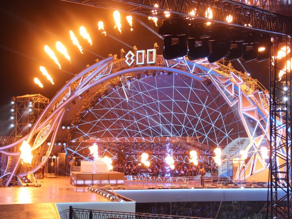 Фоторепортаж: как прошло гала-шоу в честь 800-летия Нижнего Новгорода