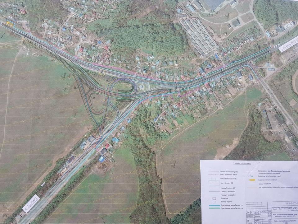 Image for В Ольгино начали готовить площадку под строительство развязки