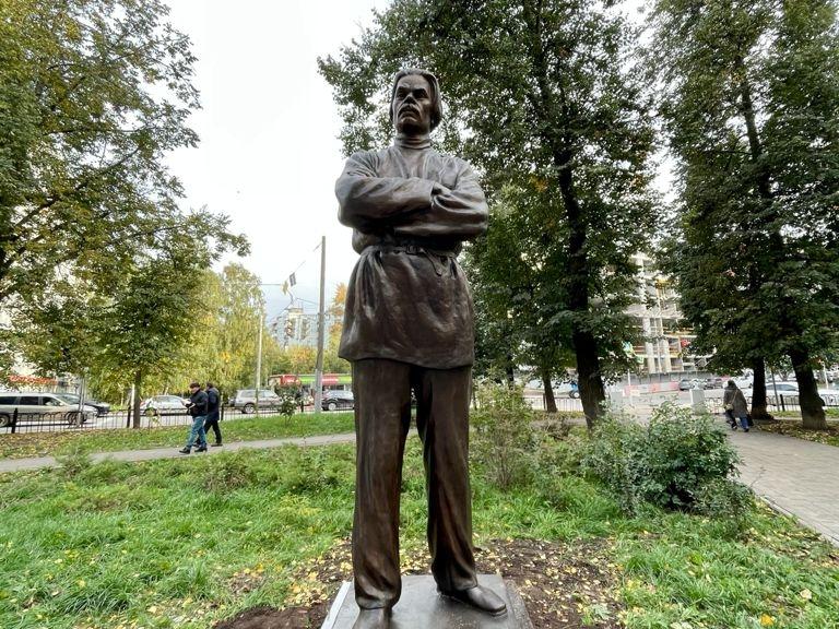 Image for Правнук Максима Горького присутствовал на открытии памятника писателю