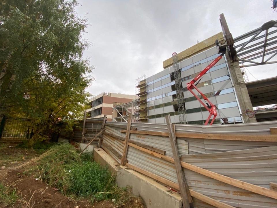 Image for Нижегородское правительство прокомментировало смену подрядчика «Школы 800»