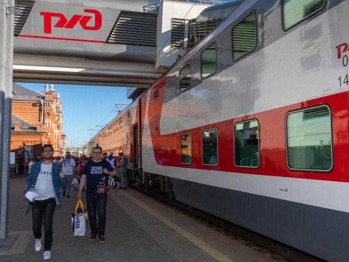Image for Нижегородский железнодорожный вокзал сможет принимать двухэтажные поезда