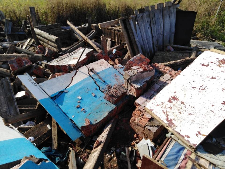 Рухнувшая стена раздавила строителя в Починковском районе
