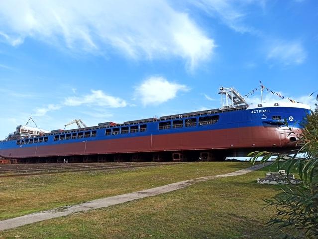 Image for Окская судоверфь в Навашине спустила на воду первый сухогруз проекта RSD59