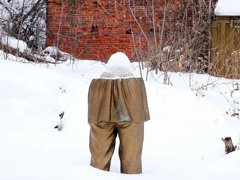 Image for Нижегородская мэрия пообещала разобраться с расчлененным памятником Горькому