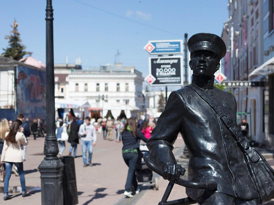 Image for Благоустройство Большой Покровской в Нижнем Новгороде идет с опережением графика