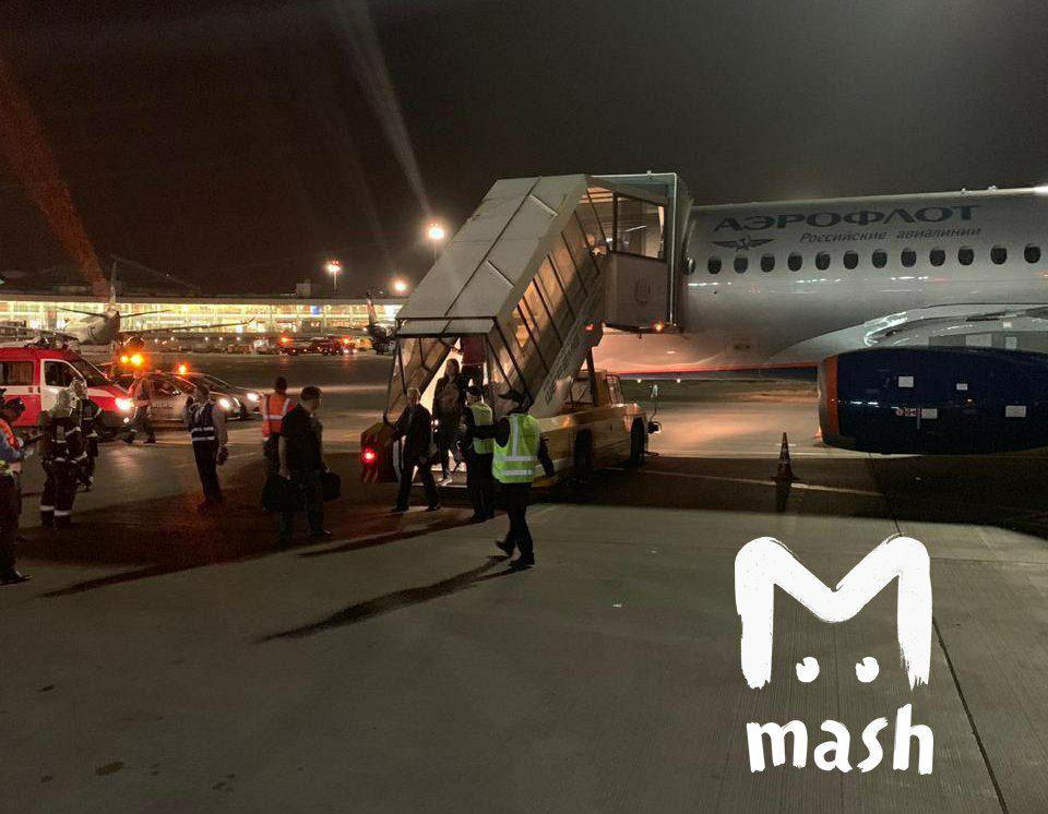 Источники в следствии назвали основную версию катастрофы Sukhoi Superjet 100 в Шереметьево